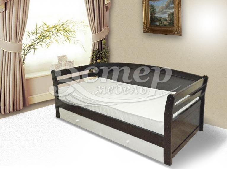Кровать Оксфорд из массива бука