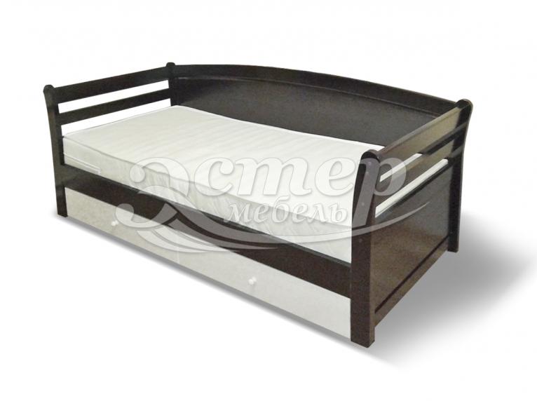 Кровать Оксфорд из массива сосны