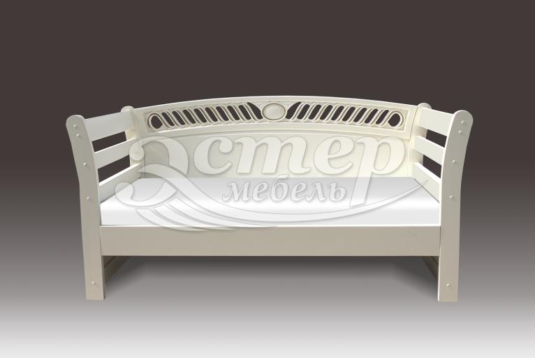 Кровать Оксфорд-элит из массива дуба