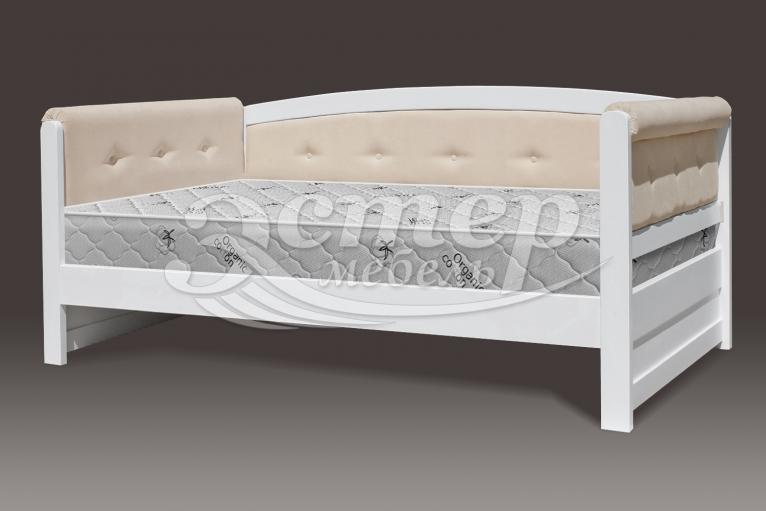Кровать Оксфорд Soft из массива сосны