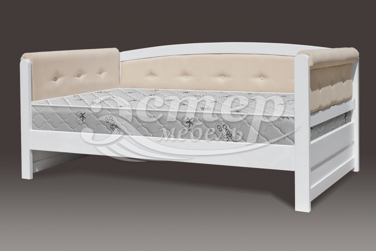 Кровать Оксфорд Soft из массива березы