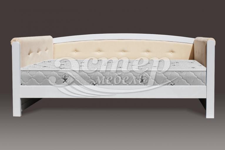 Кровать Оксфорд Soft из массива дуба