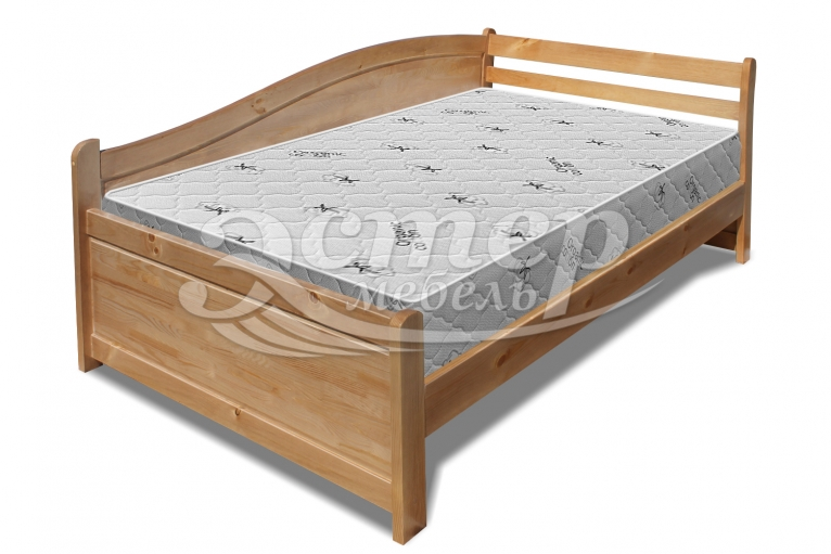 Кровать Аделина Hard из массива сосны