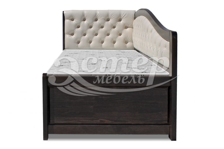 Кровать Аделина Soft-М из массива сосны