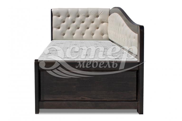 Кровать Аделина Soft-М из массива дуба