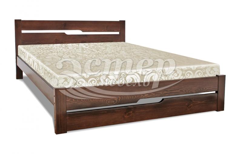 Кровать Веста из массива дуба