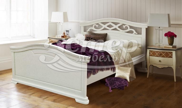 Кровать Гориция из массива бука