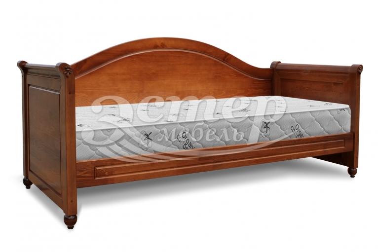 Кровать Эсма из массива дуба
