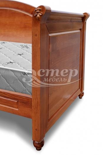 Кровать Эсма из массива бука