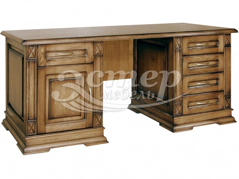 Письменный стол Флоренция-2 из массива дуба