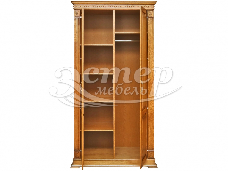 Шкаф 2-х створчатый Флоренция-2 из массива дуба