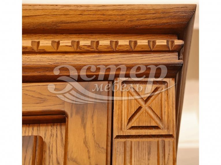 Шкаф для прихожей Флоренция-2 из массива сосны