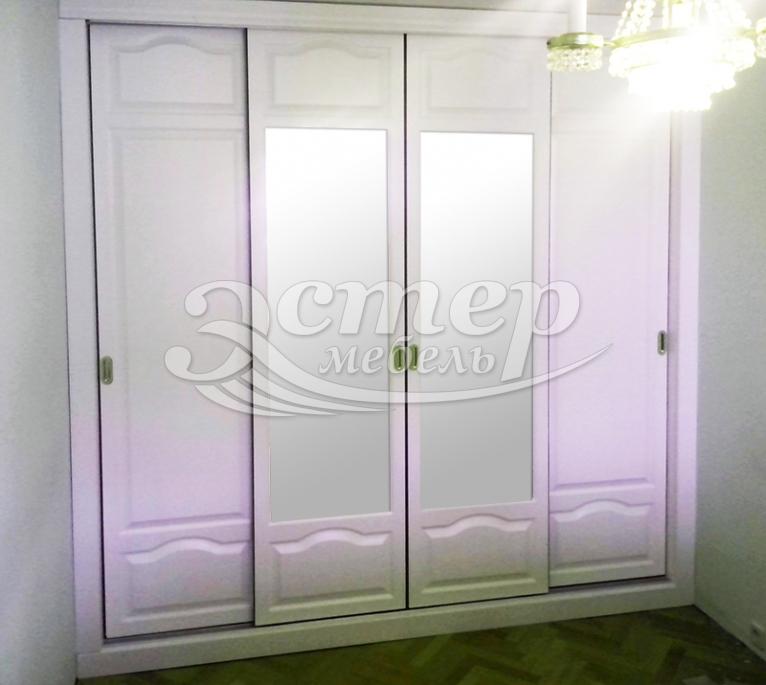 Шкаф Альянс встроенный из массива березы
