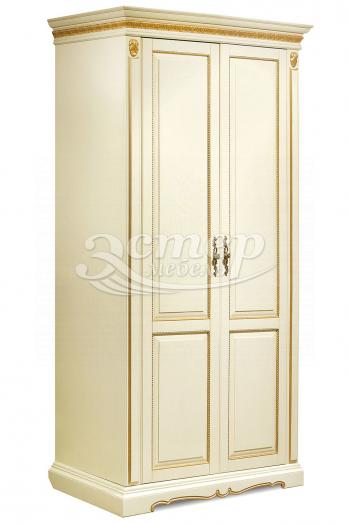 Шкаф Милано 2-х створчатый из массива березы