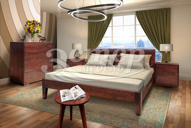 Спальный гарнитур Лоренцо из массива бука