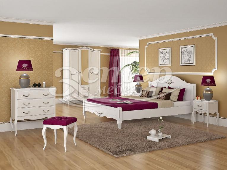 Спальный гарнитур Прованс 1 из массива сосны