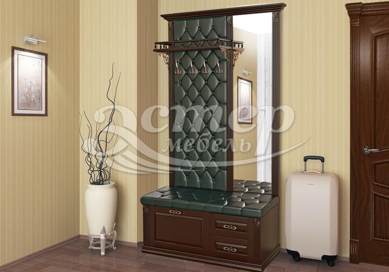 Стеновая панель с зеркалом и тумбой 3 из серии