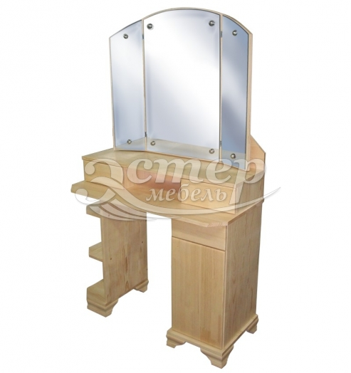 Дамский столик Муромец из массива дуба