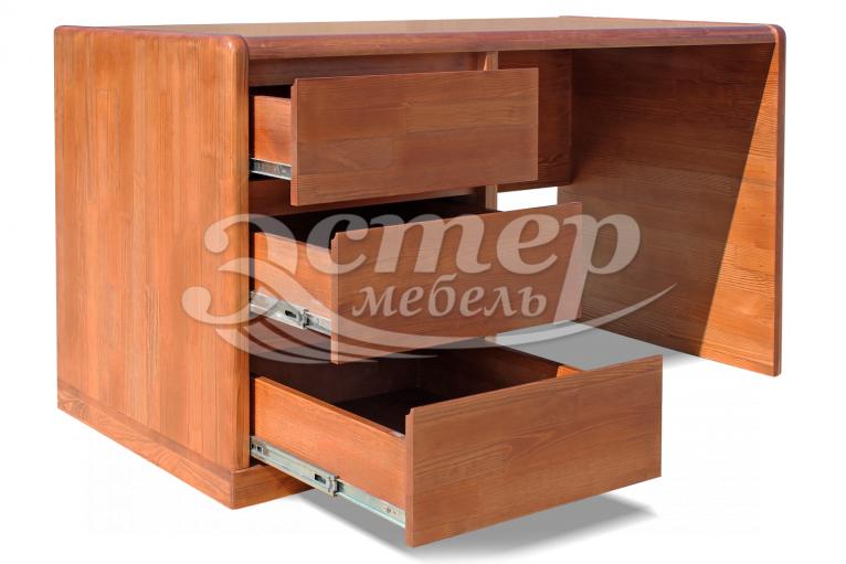 Стол письменный Альба Люкс из массива сосны