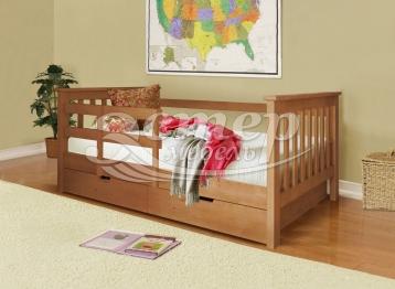 Детская кровать Сиена из массива сосны