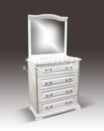 Комод Севилья с зеркалом из массива березы