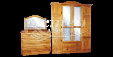 Комод, шифоньер, зеркало из массива сосны