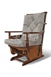 Кресло-качалка маятникого типа Миранда из массива дуба