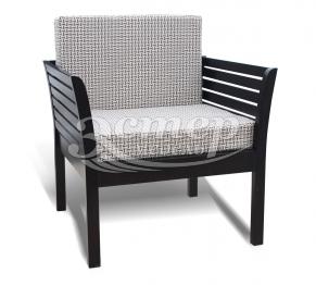 Кресло Марта из массива дуба