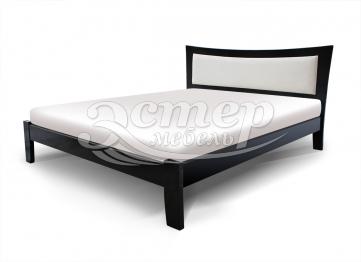 Кровать Вегас с мягкой вставкой из массива сосны