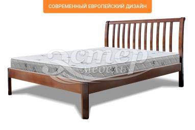 Кровать Летиция Люкс из массива дуба