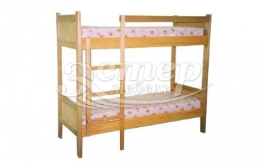 Кровать двухъярусная Колорадо 3 из массива дуба