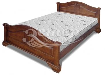 Кровать Сидни из массива дуба