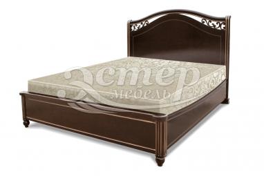 Односпальная кровать Грация-тахта из массива сосны