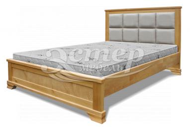Кровать Колорадо с мягкой вставкой из массива сосны