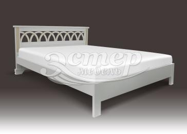 Односпальная кровать Прага (Люкс) из массива сосны
