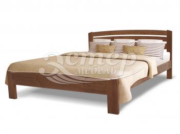 Кровать Мурсия из массива сосны с подъемным механизмом