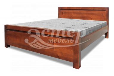 Кровать Алан из массива сосны с подъемным механизмом