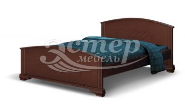 Кровать Гудзон из массива сосны