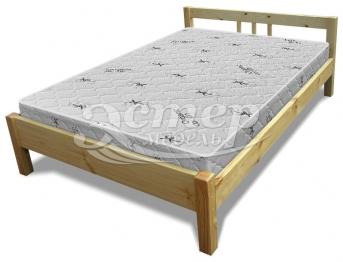 Кровать Джерси из массива сосны