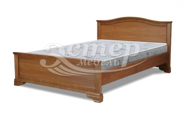 Кровать Вена из массива березы