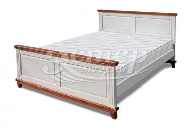 Кровать Прованс Нойс из массива сосны с подъемным механизмом