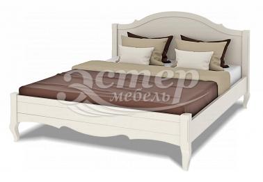 Кровать Прованс Hard из массива сосны с выдвижными ящиками