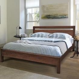 Кровать Арланса из массива сосны с подъемным механизмом