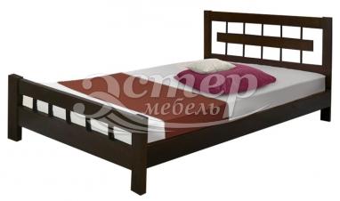 Кровать Сория из массива сосны
