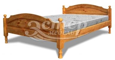 Кровать Кристал из массива сосны