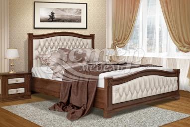 Кровать Соната из массива сосны с подъемным механизмом