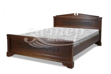 Кровать Женева из массива дуба