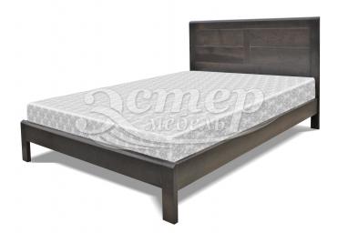 Односпальная кровать Дакота из массива сосны