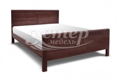 Односпальная кровать Дакота 2 из массива сосны