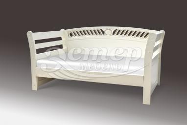 Кровать Оксфорд-элит из массива сосны